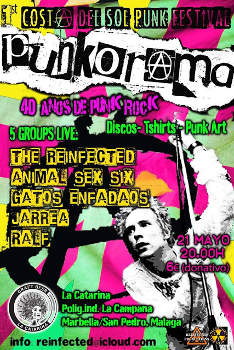 Punkorama: I Costa del Sol Punk Festival, 21 de mayo 2016, Marbella (Málaga)