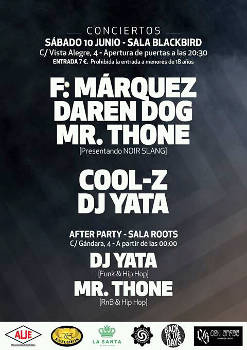 Fernando Márquez, Daren Dog, Mr. Thone, Cool-Z, DJ Yata