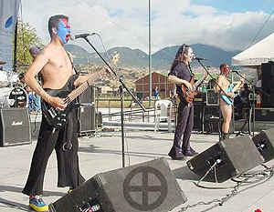Rock Al Parque 2k1: Bogotá, del 3 al 12 de Noviembre del 2001.