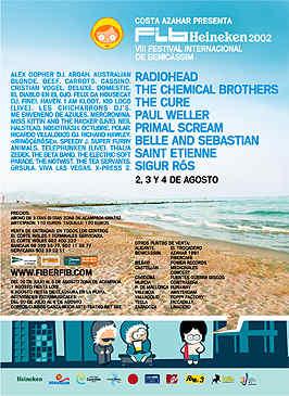 Fib: VIII Festival InternacionaldDe Benicassim 2002