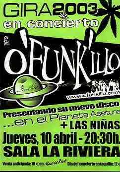 """O'funkillo: """"fiesta A Jierro"""""""