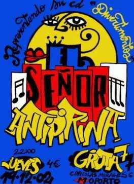 El Señor Antipirina: Concierto el 19/12/2002 en Madrid