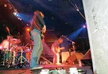The Jeevas: Concierto en Sala Roxy, Valencia, 27 de marzo de 2003