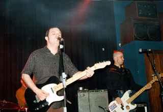 The Model Rockets: Concierto 29/03/2003 en la sala Roxy Music de Valencia
