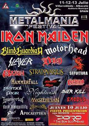 Responsable  De ProducciÓn Internacional Del MetalmanÍa: Intenciones De Continuidad