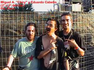 "Festival Metalmanía 2003: 11,12 y 13 de julio de 2003, ""Spain is different!""."