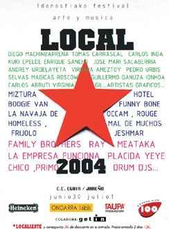 1 Donostiako Festival Local Arte Y MÚsica: 30 De Junio Y 1 De Julio. Donosti
