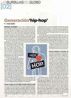 El Pais: Generación Hip Hop – Opinando a lo tonto