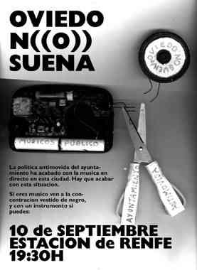 Manifiesto: Oviedo No Suena