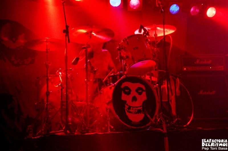 The Misfist. Concierto en Barcelona. Verano 2005.