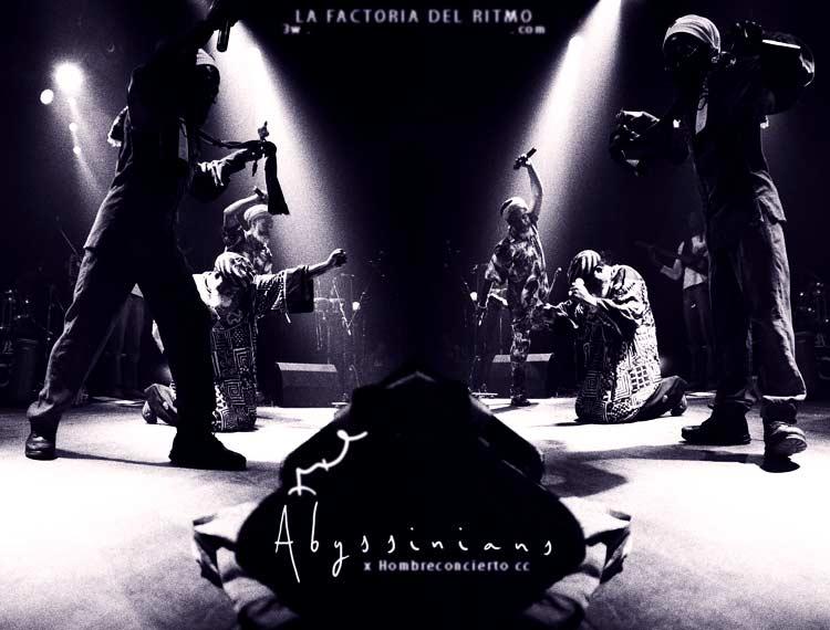 Abysssinians: Abyssinians, Dillinger. Concierto en Barcelona. Sala Apolo. 14 de Febrero 2005.