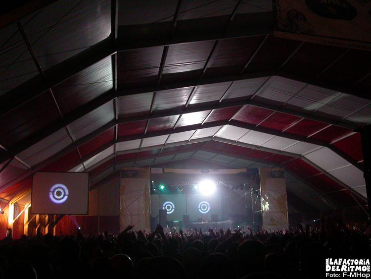 Santander Summer Festival 2005: 8 y 9 de Julio. Playa de Rostrio