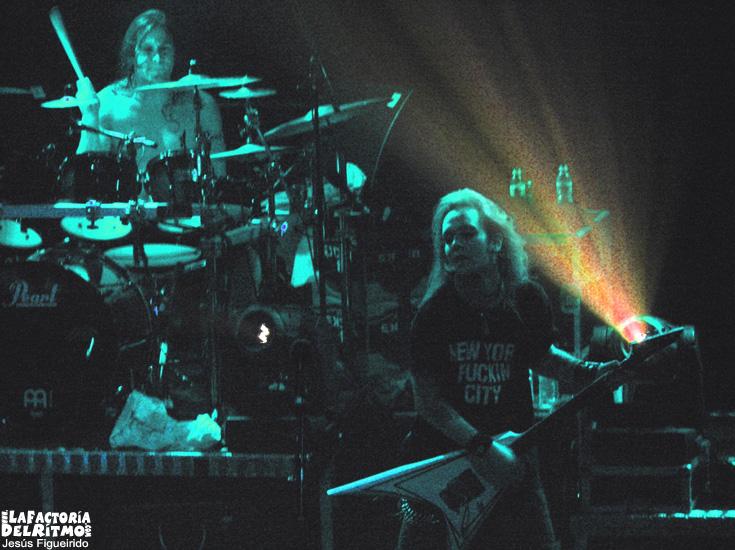 Children of Bodom: Concierto en Oporto (19/01/2006)