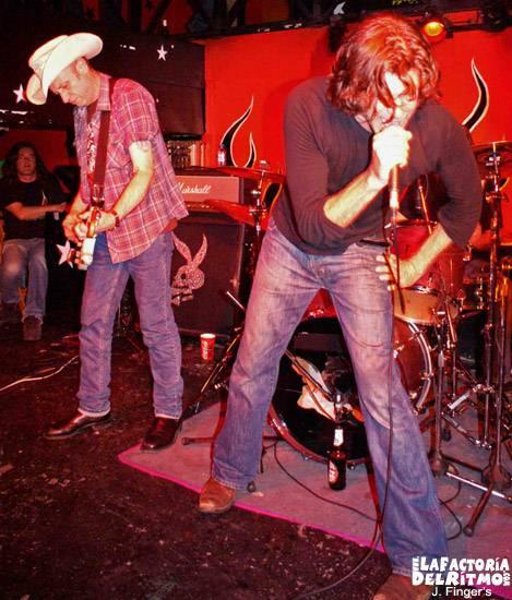 The Beasts Of Bourbon: Concierto en Vigo – 20/04/2006
