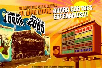 Festival Gesell Rock: Segunda Jornada – Buenos Aires – 19/01/2006