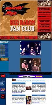 Red Baron Fan Club: Portal dedicación a Barón Rojo