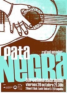Pata Negra: Concierto en Barcelona – 20/10/2006