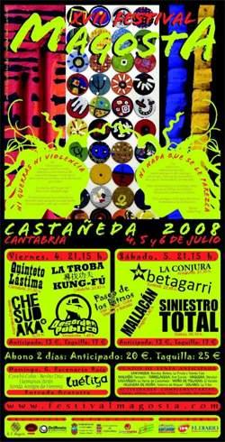 Festival Magosta 2008: Previo – 4 a 6 de julio