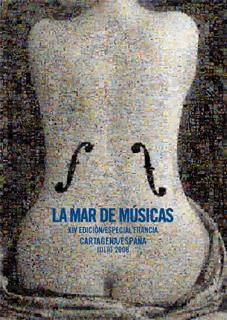 XIV Edición del Festival La Mar de Músic: Previo – 5 a 26 de julio, Cartagena