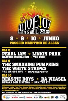 Oeiras Alive! 07: (Previo) – 8 a 10 de Junio, Portugal