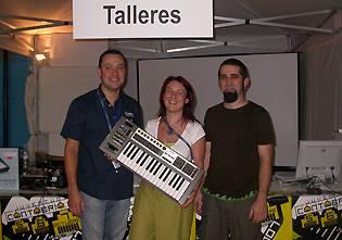 Juventud Cantabria.Net 2007: Taller sobre VJing