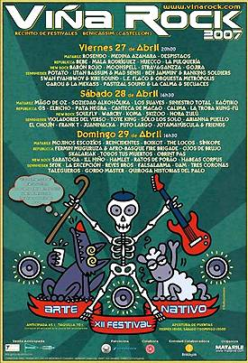 Viña Rock / Villa-Rock-Bledo: Dos festivales paralelos, del 27 al 29 de Abril