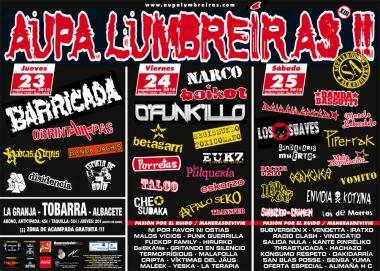 XIII Festival Aupa Lumbreiras 2010: 23, 24 y 25 de septiembre. Torraba, Albacete – Previo