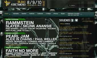 Bilbao BBk Live 2010: 8, 9 y 10 de julio. Kobetamendi, Bilbao – Previo