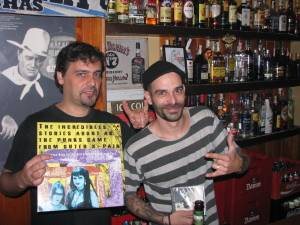 III San Vinilo: Fiesta simultánea Lemmy Vs. Bunker. Málaga, 9 de octubre 2010