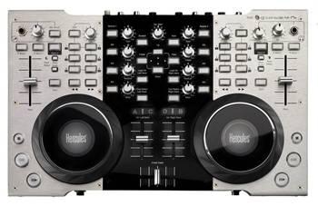 DJ Console 4-MX, Hercules: Tamaño ampliado y jog wheels mejoradas