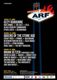 Azkena Rock Festival 2011: Días 23, 24 y 25 de junio, Vitoria – Previo