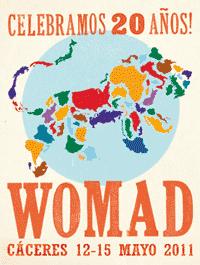 Womad Cáceres: XX edición. Días 12 a 15 de Abril, 2011, Cáceres – Previo
