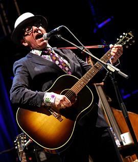 Elvis Costello Diana Krall: Concierto en Santiago D.C. (Plaza de la Quintana), 27/07/10