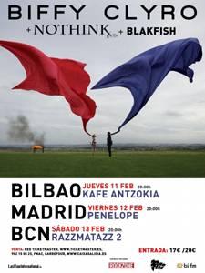 Biffy Clyro: Concierto en Bilbao – 11/02/10