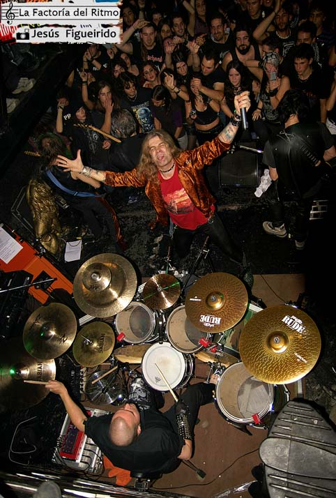 Lujuria – Concierto en Vigo, 07-11-2009