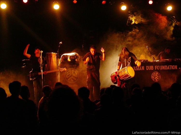 Asian Dub Foundation – Concierto en Santander, 11/12/2008