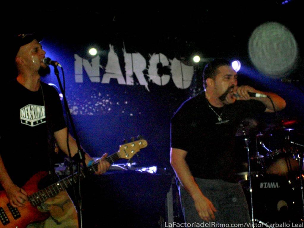 Narco, Trashtucada: Narco y Trashtucada – Concierto en Sevilla, 29/11/2008