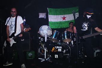 La Pila Punk, The Castro Zombies & The Mutant Phlegm: Concierto en Málaga, 18/07/2009