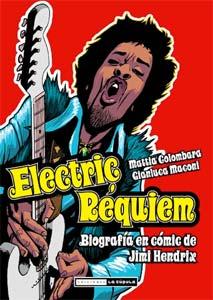 Mattia Coplomabara: Electric Requiem – Una biografía en cómic de Jimmy Hendrix