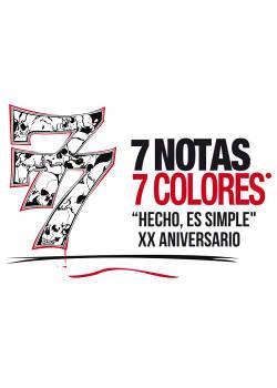 7 Notas 7 Colores: Gira para celebrar el 20 aniversario de su álbum debut.