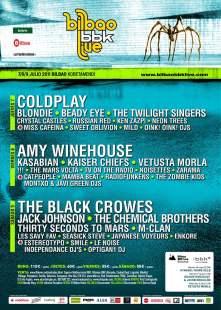 Bilbao BBK Live 2011: 7, 8 y 9 de julio, en Bilbao