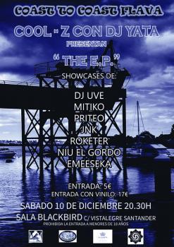 Cool-Z, DJ Yata: Concierto presentación de su nuevo disco, 10 de diciembre 2016 en Santander