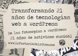 La Factoria Del Ritmo: Participará en WordCamp Santander, el 5 de noviembre