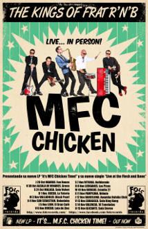 MFC Chicken: Gira otoño 2015 en España
