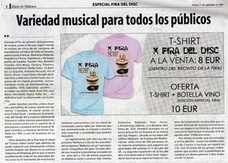 La Factoria Del Ritmo: Colaboró con el stand Cobai's Punk en la X Fira del Disc de Mallorca