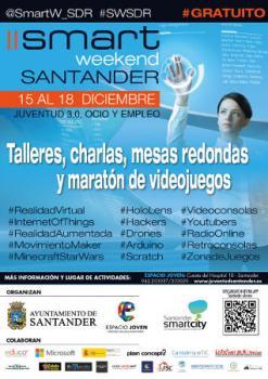 II Smart Weekend Santander: 15 a 18 diciembre 2016 en Santander