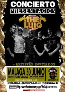 The Lujo: Concierto en la sala Paris 15, Málaga 30 junio
