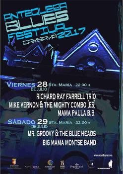 Antequera Blues Festival Cambayá 2017: 28 y 29 de julio, Antequera (Málaga)