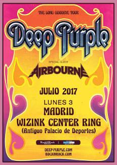 Deep Purple: Vuelve a nuestro país