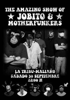 Jobito & Motherfunkers: Concierto en Maliaño (Cantabria), 30 de septiembre 2017